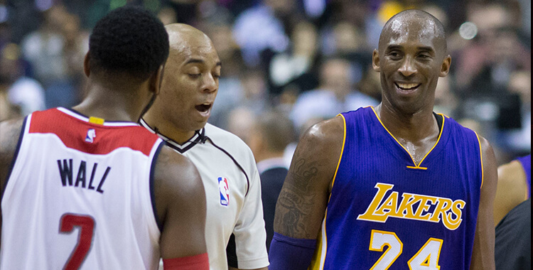 Kobe Bryant - Credit Wikipedia Commons
