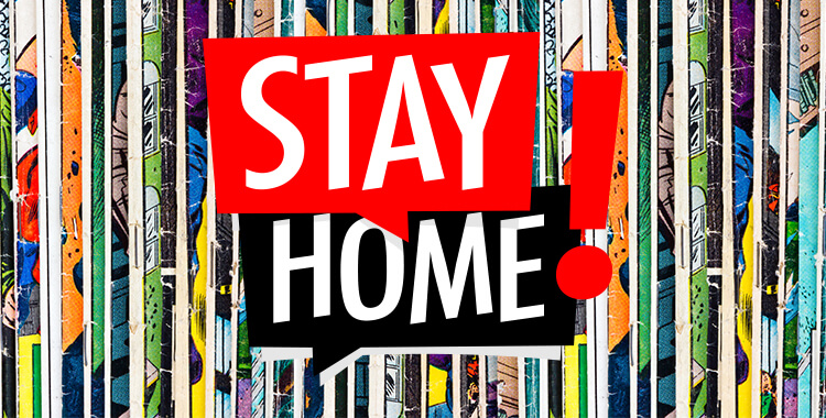 Comic Books Stay Home