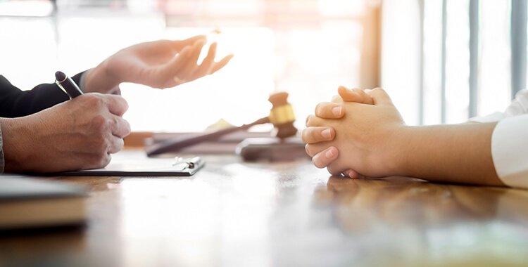 Talking with an Attorney
