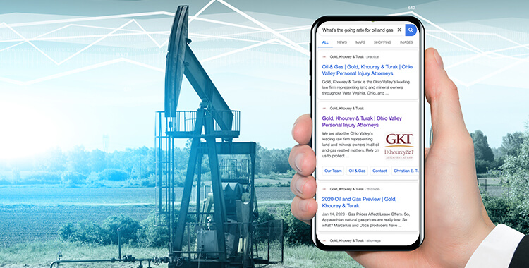 What's the Going Rate on Oil and Gas Leases? Search Results