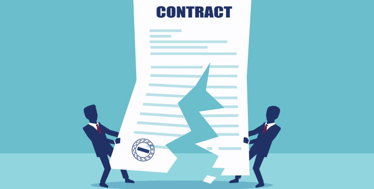 Broken Oil and Gas Contract