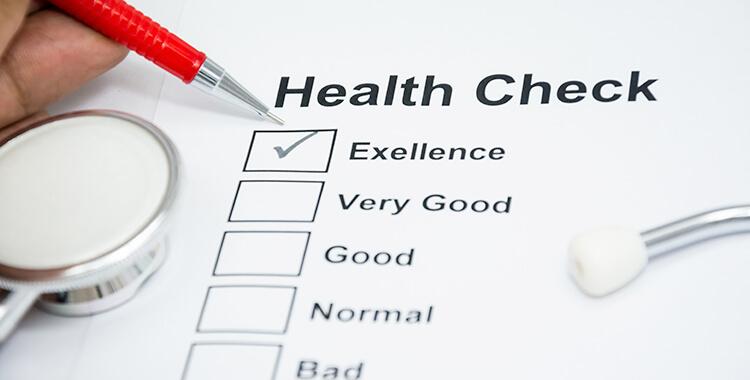 Health Check for Social Security Claim