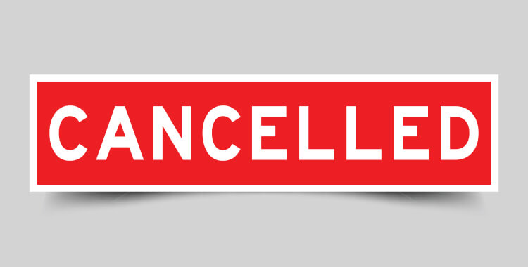 Oil and Gas Cancelled Contract