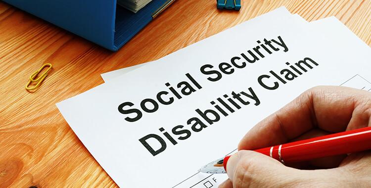 Social Security Claim Form